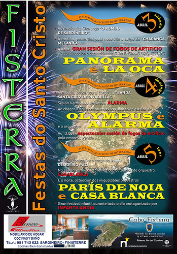 Fisterra - 2010 - Festas do Santo Cristo - abril - cartel