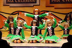 Girls Figures competition (EoinGardiner) Tags: world irish dance championship glasgow 2010 oireachtas rince cruinne