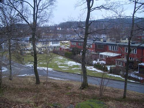 Nästan snöfritt i Landvetter
