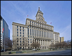 Canada Life Building at Queen East and University (mmmighty_atom) Tags: life canada building d700 1424mm