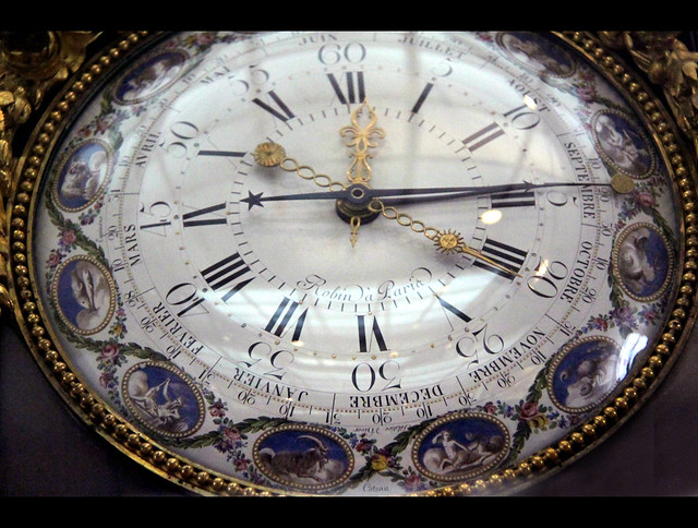 Timepiece, by Robert Robin, c. 1780
