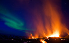 My biggest kodak moment (ice-cold photography) Tags: world nature wonderful stars wonder flow fire lights star volcano lava iceland landscaping voice lyra ash northern gaia volcanic vega flights constellations hercules eruption northernlights auroraborealis celestial cancelled 2010 naturaldisaster airtraffic geological disruption northernhemisphere wonderfulworld eyjafjallajokull constallation volcaniceruption iceandfire fimmvorduhals starvega coronaborealis flickraward concordians top25redorangeandyellow northerncelestialhemisphere