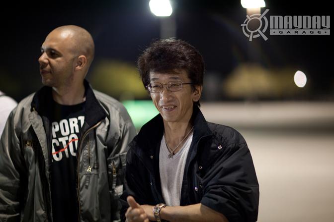 John Leigh and Smoky Nagata. KP