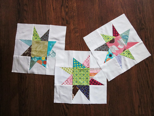 Maverick Star Blocks for Bee Beautiful Charity Quilt
