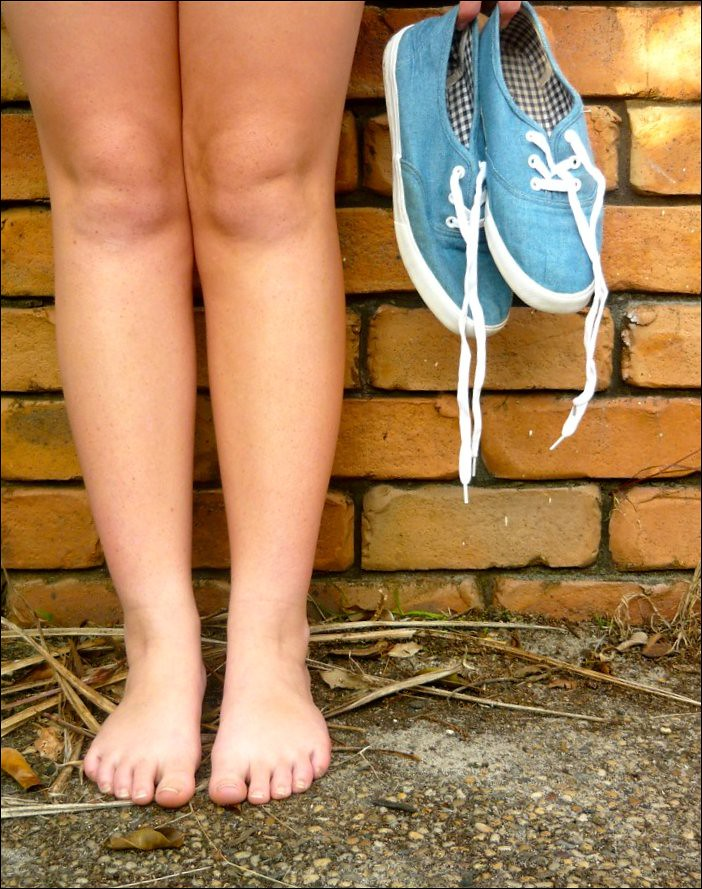 Day 98 - One Day Without Shoes