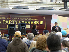 Tea Party Express at the Minnesota capitol