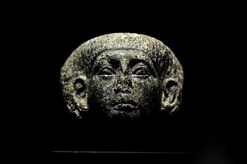 Male Statue Head