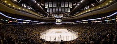 TD Garden Panoramic (falconn67) Tags: ice hockey sport boston garden nhl banner panoramic arena rink 5d bruins banners fleetcenter celtics champions tdgarden