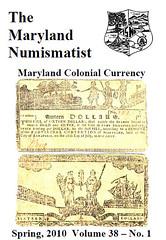 Maryland Numismatist Spring 2010 v38n1