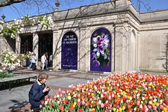 Entrance to Longwood Gardens, April 10, 2010