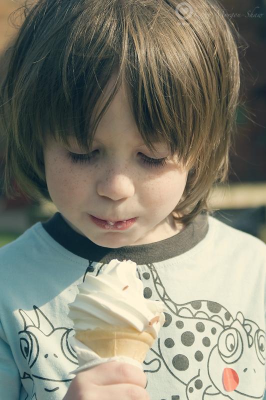 1st ever icecream cone...