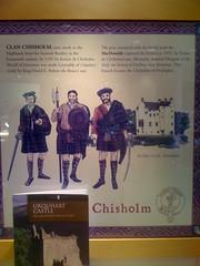 Clan Chisholm at Castle Urquhart
