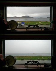 Spot the Difference (RoystonVasey) Tags: old window weather canon eos scotland pub inn view angle wide sigma change loch forge 1020mm nevis knoydart inverie lochnevis 400d