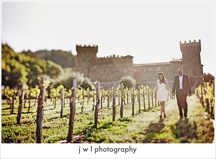 castello di amorosa, engagement session, j w l photography, deepa + roneel_14