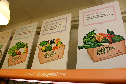 Supernature does delivery too, of themed boxed produce