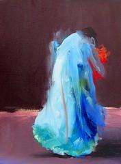 S/T leo sobre papel. 2011. 30 x 40 cm (joseba.eskubi) Tags: arte pintura eskubi