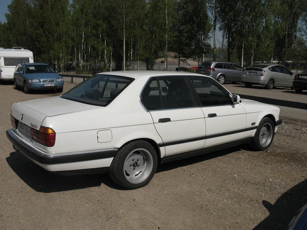 BMW 740i Nakhon100 Tags White Cars Bmw V8 7series E32 7er 740