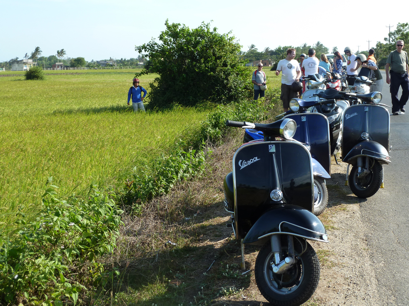 Vespas Scooter Tour