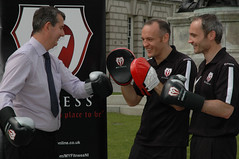 Health Minister with Brian Magee - MY Fitness