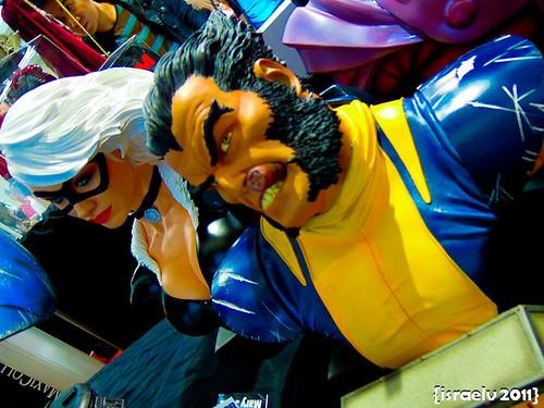 Black Cat & Wolverine by israelv
