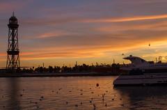 Barcelona Sunset (Pointless Pictures) Tags: barcelona sunset paris london canon eos europe lisbon fisheye 7d 28135 8mm bower