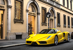 Nothing is better than a yellow Enzo (David Clemente Photography) Tags: ferrari ferrarienzo enzo supercars hypercars v12 cars carspotting automotivephotography automotive nikon nikonphotography italiancars