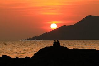 Romantic Sunset (Chanthaburi Seascape)