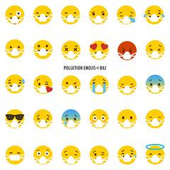 pollution emojis (the_digitalmonkey) Tags: emoji emojis emoticons airpollution pollution