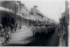 our nehru street....pondicherry (dheepak1) Tags: street history beautiful port french la boat ship duplex fontaine nehru pondicherry jn gandhiji dpak promanad pudicherry