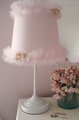 Tutu Lamp (such pretty things) Tags: pink flowers lamp tuesday target tulle tutu millinery