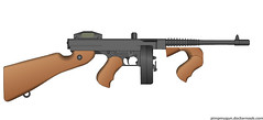 Thompson M1928 (Kirk0007) Tags: awesome bandwagon pmg pwn pimpmygun
