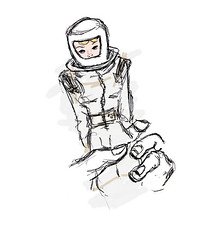 Astronaut Barbie (Karlisha Gray) Tags: illustration barbie barbiechronicles genderroles vintage astronaut astronautbarbie editorial pen ofmereplastic poem doll genderpolitics davidtrinidad 18 dolls barbiedoll vintagebarbie vintagedoll essay story toy childstoy playing boy littleboy sketchy tx texas minneapoliscollegeofartanddesign minneapolis kargray1 karlisha karlishagray layout houston mcad heykaygray gray digital drawing editoral editoralillustration trinidad digitalillustration plastic icon idol mereplastic mattel mattlebarbie space girltoy sexualplaything childtoy 18th 18thbirthday birthday gender woman thebarbiechronicles