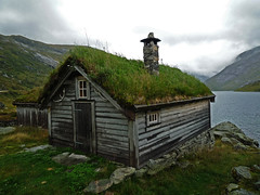 hut (*helmen) Tags: old nature norway landscape europe nobody nopeople hut