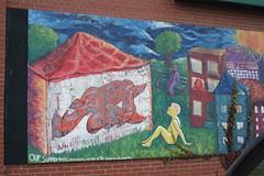 Parkdale mural art