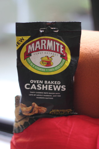 Oven Baked Marmite Cashews