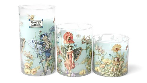 Flower Fairy Scented Candle Gift Set