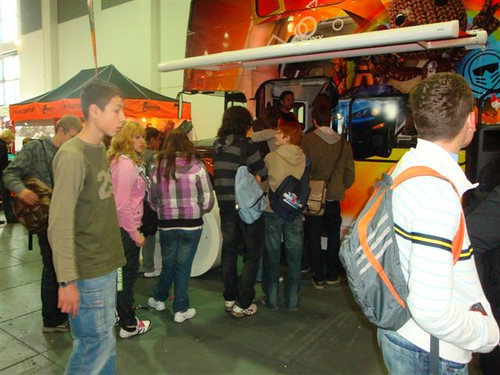 Der PSP Bus on Tour