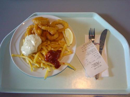 Calamari mit Remoulade