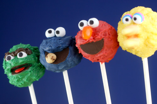 Sesame Street Cake Pops