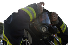 HAZMAT exercise (Presidio of Monterey: DLIFLC & USAG) Tags: california rescue training firedepartment firefighters hazmat chemical presidioofmonterey dliflc