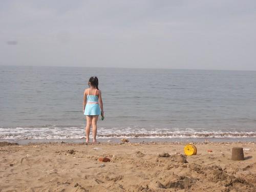 katharine娃娃 拍攝的 28娃與海。