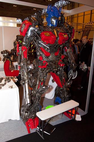 Robosteel - Transformers Steel Sculpture - MPH 2009 - Birmingham NEC - 091114 - Steven Gray - IMG_0685