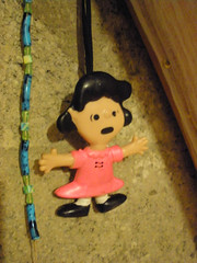 This rubber Lucy is my childhood toy
