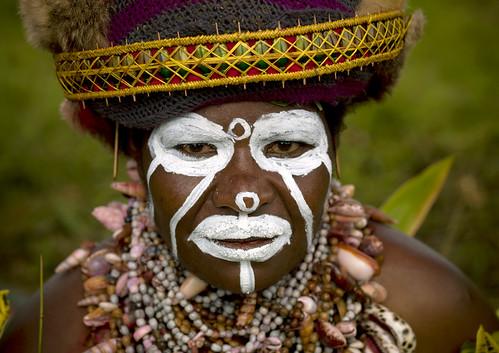 Hagener woman - Papua New Guinea