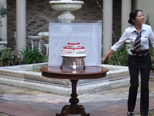 20091121 ウェディングケーキ