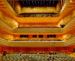 Budapest culture - Bla Bartk National Concert Hall (jackfre2 (on a trip-voyage-reis-reise)) Tags: green hall concert hungary cathedral budapest spots podium rows seats orchestra chambermusic palaceofarts