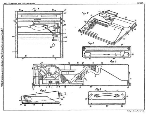 Patent Prezioso GB445059