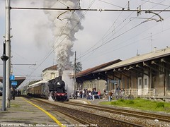 Treno Blu del 1 maggio 2004 (Cancio) Tags: bergamo 740 gr740 740451