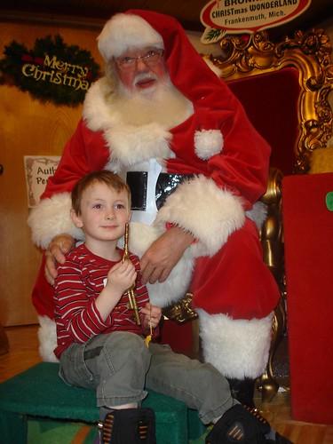 Otto and Santa