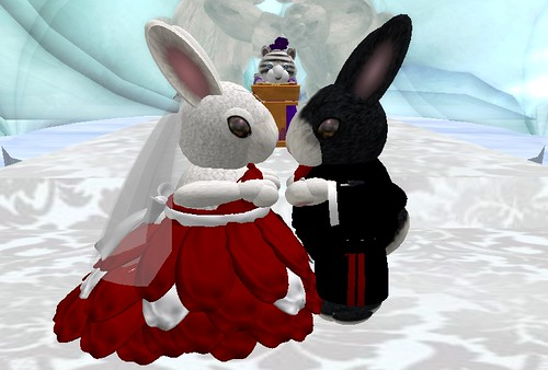 Kitti and Chaffro tie the knot!